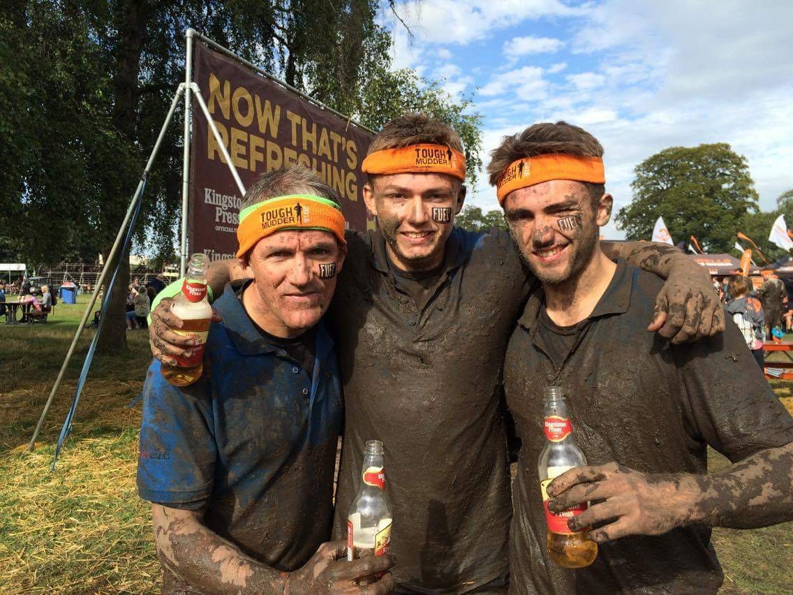 PME tough mudder Macmillan 1