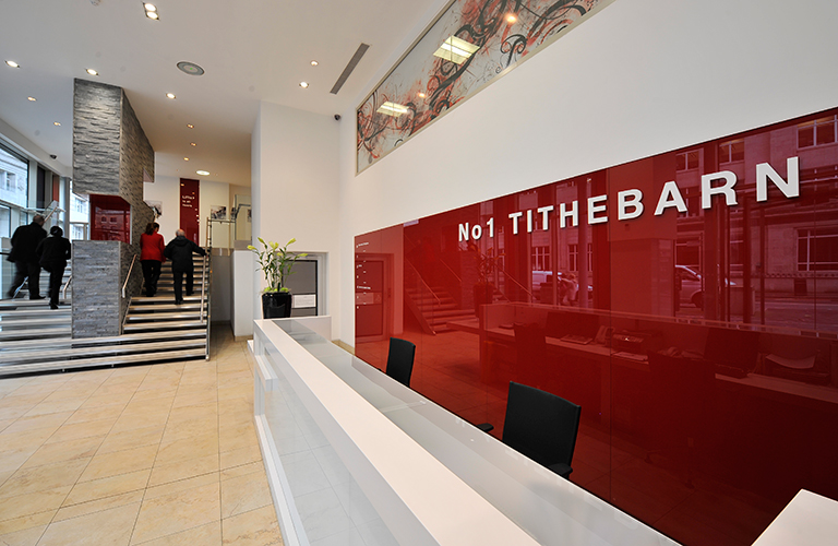 Tithebarn reception